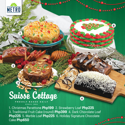 Metro Supermarket Christmas Basket, Gift Certificates, Holiday Cakes and Corporate Solutions