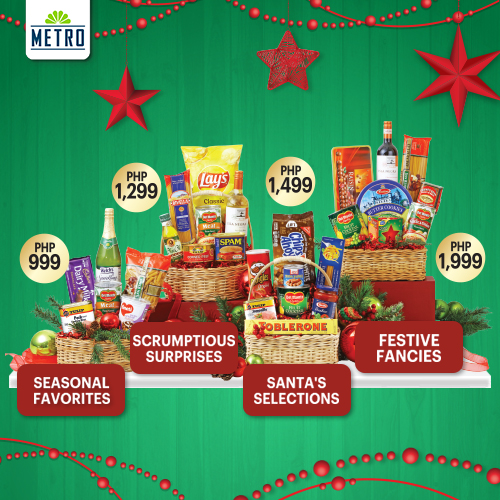 Metro Supermarket Christmas Basket, Gift Certificates and Corporate Solutions